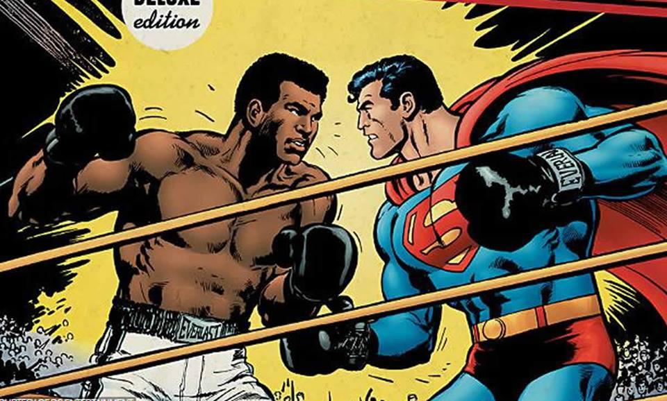 Superman contra Muhammad Ali: Un recordadocrossover