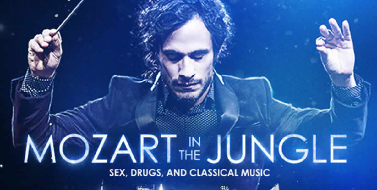 Mozart in the Jungle: Totalmente recomendable