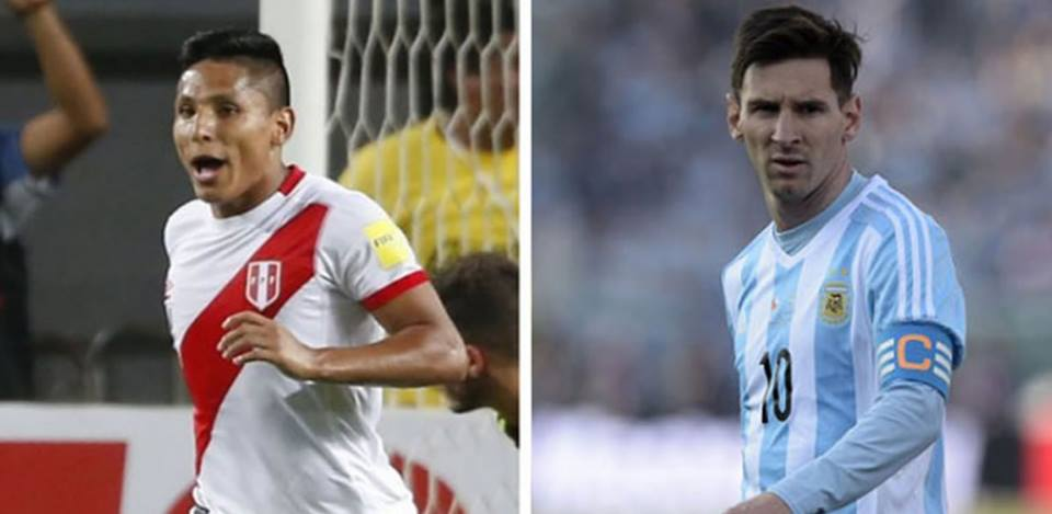 """""""Pulgas"""" en fuga: Lionel Messi y RaúlRuidíaz"""