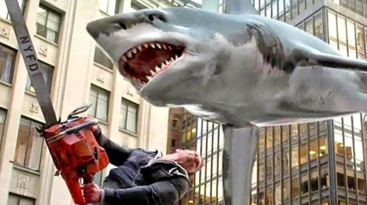 Sharknado 4: ¿Esto le sucedió al Tiburón deSpielberg?