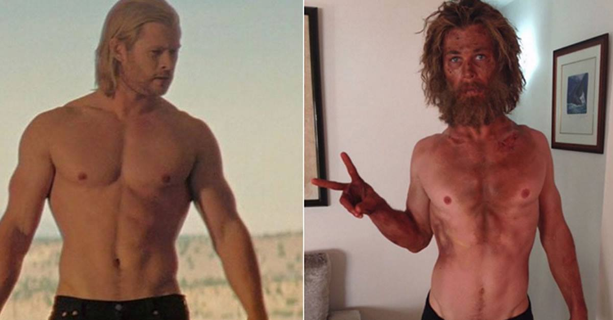 Thor adelgaza para película ¿y lasalud?