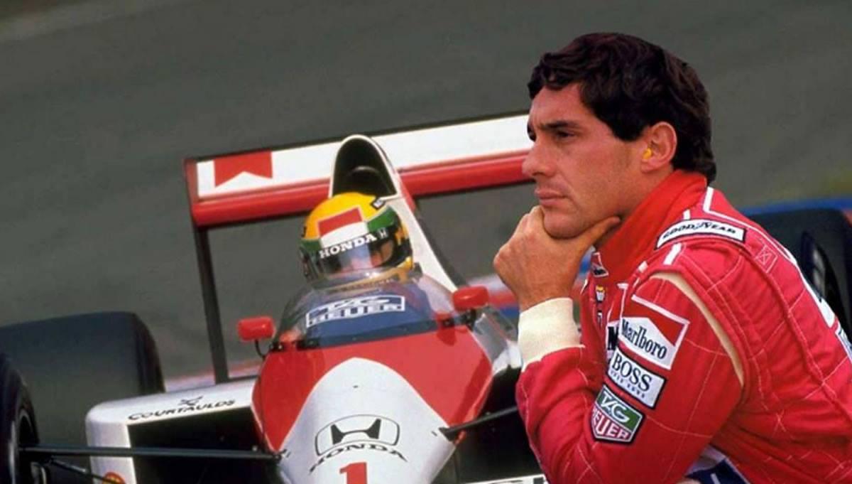 Ayrton Senna y su carrera hacia lainmortalidad