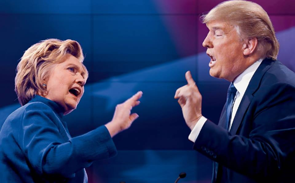 """El """"round"""" final entre Hillary Clinton y Donald Trump dejó estaagenda"""