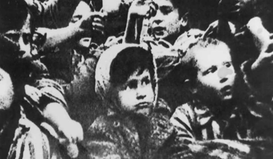 Nazis asesinaban niños judíos para evitar que luego sevenguen