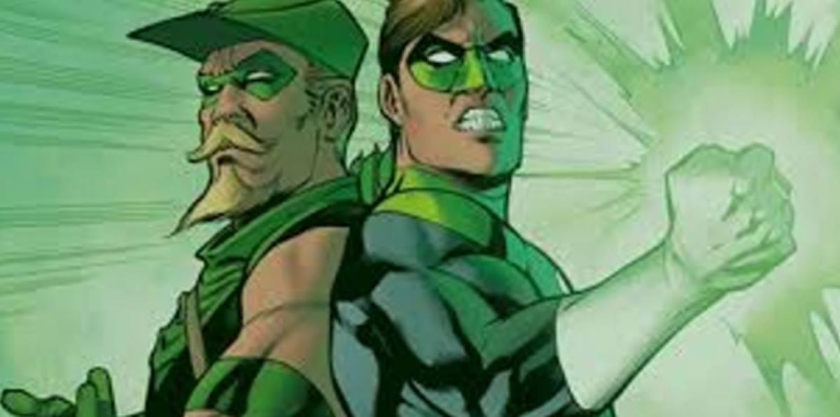 Linterna Verde y Flecha Verde: Clásico cómic con dimensiónsocial