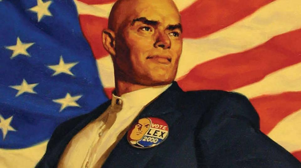 Lex Luthor llegó a ser Presidente de los EstadosUnidos