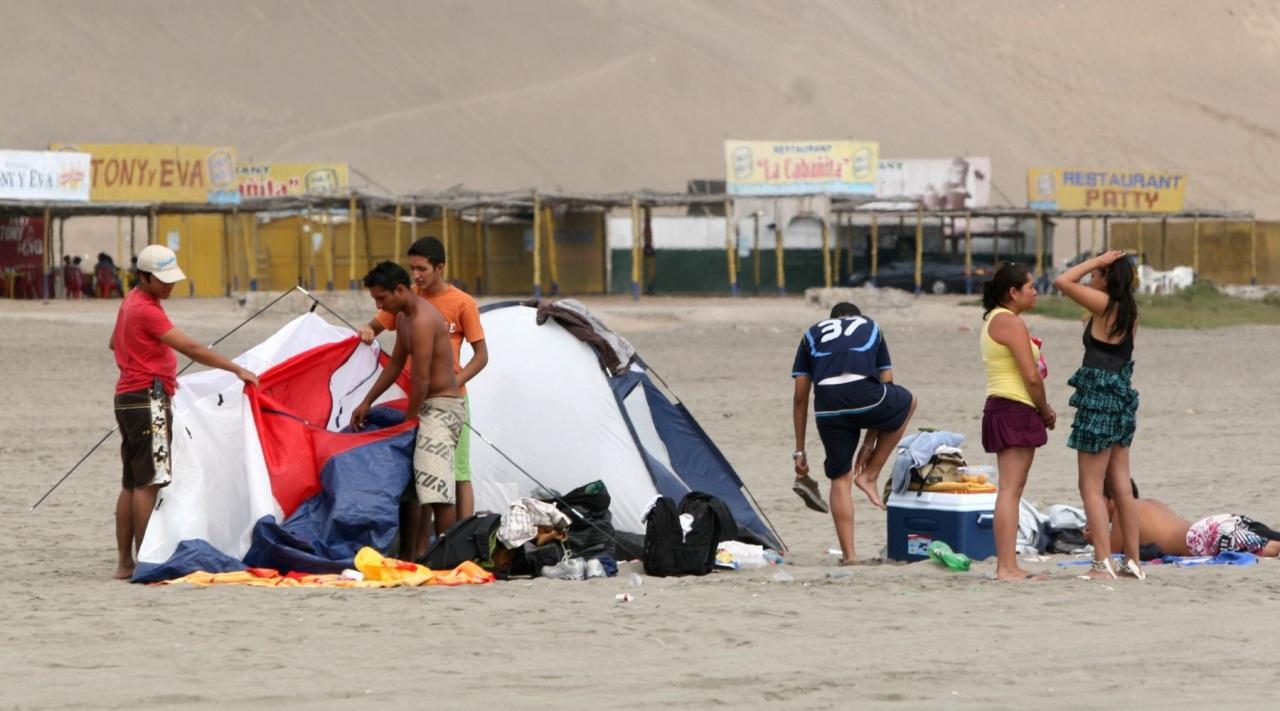 Tips para irse de campamento a la playa y no pasarlamal