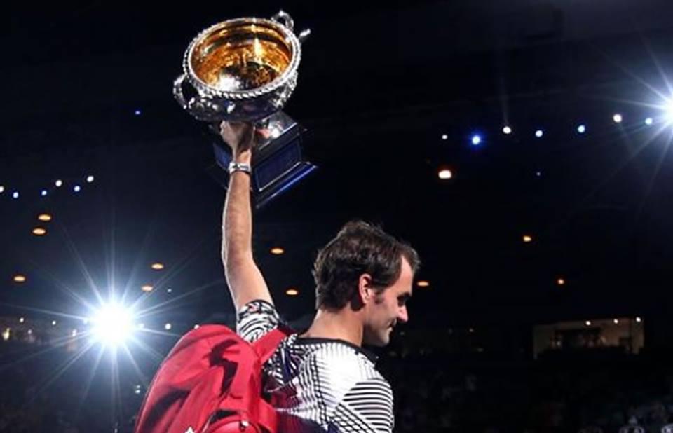 Roger Federer venció a Nadal y derribó pronósticos enAustralia