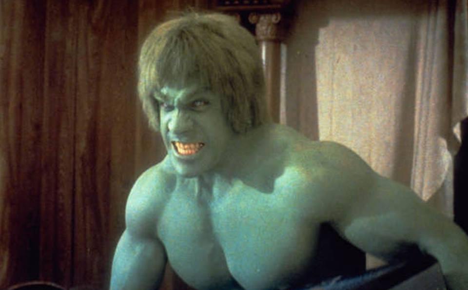 Héroes de la TV en los 70: El Hombre de la Atlántida, El Increíble Hulk y El HombreNuclear