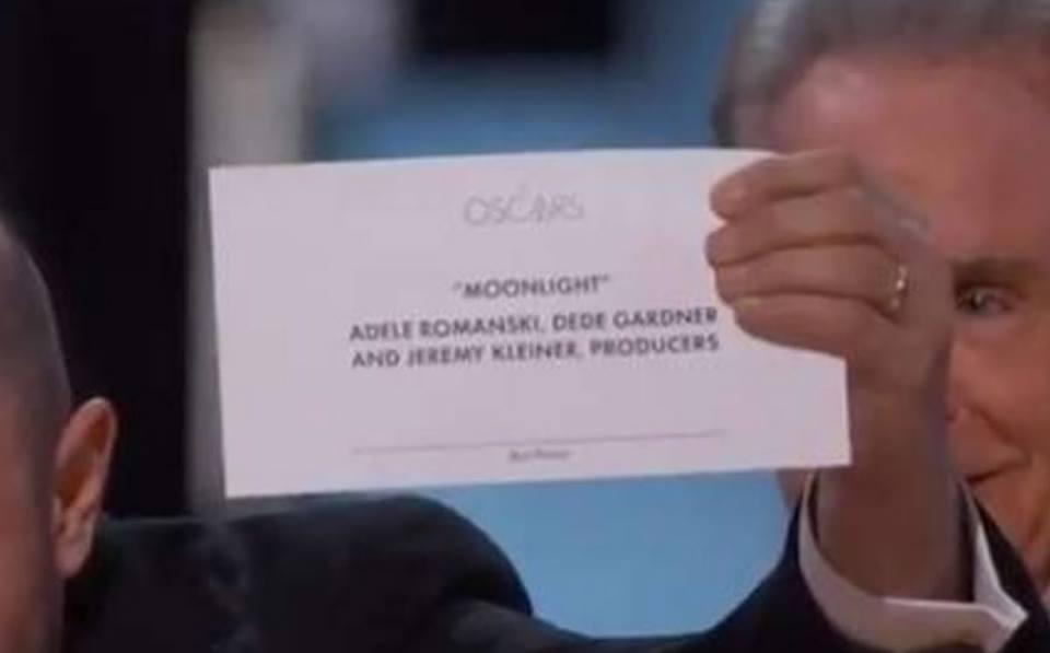 Oscar 2017: Moonlight ganó pero anunciaron a La La Land(Comentario)