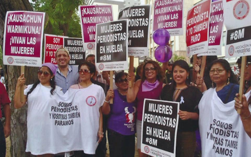 Día de la Mujer: La Asociación Nacional de Periodistas se sumó alparo