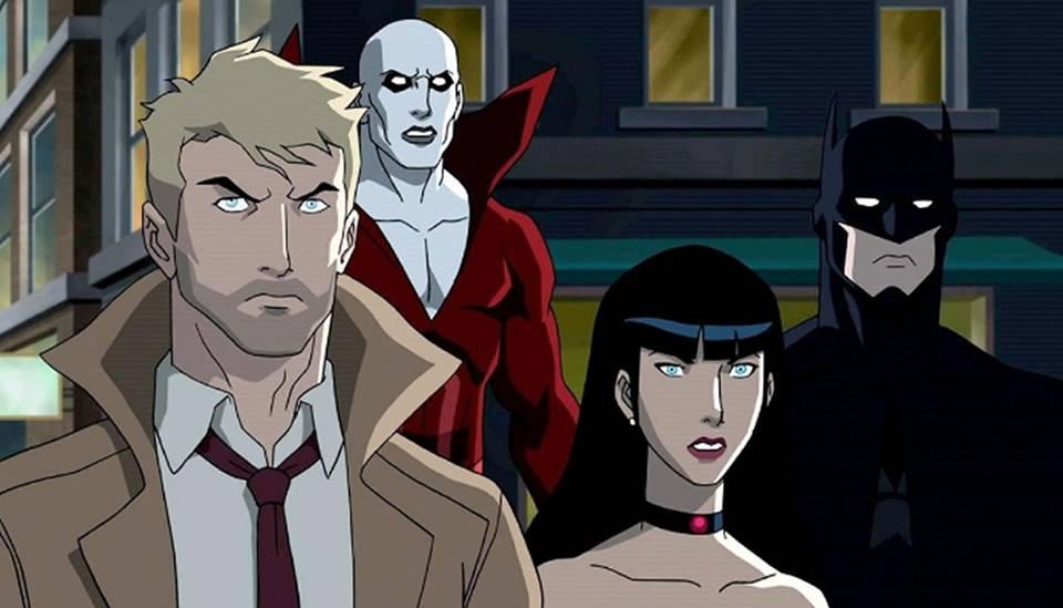 La Liga de La Justicia Oscura y nuevos episodios de UltimateSpiderman