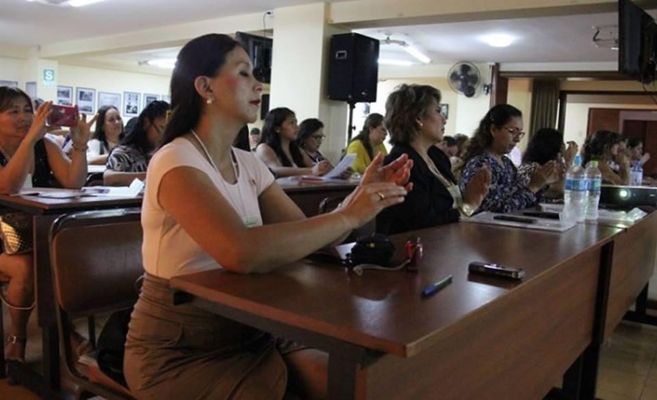 Mujeres periodistas de todo el Perú comparten experiencias ymetas