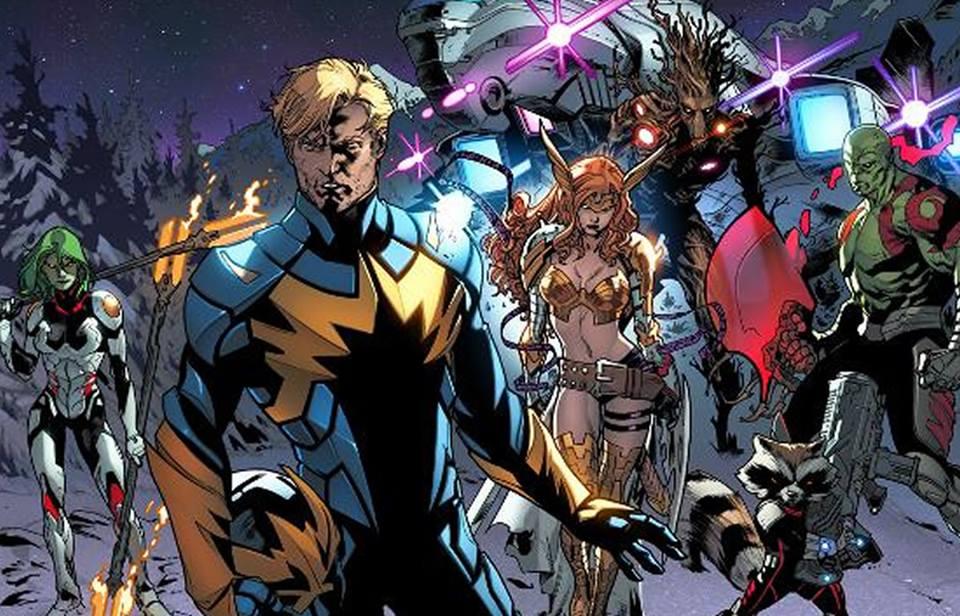 Los Guardianes de la Galaxia y otros justicieros que defienden elespacio