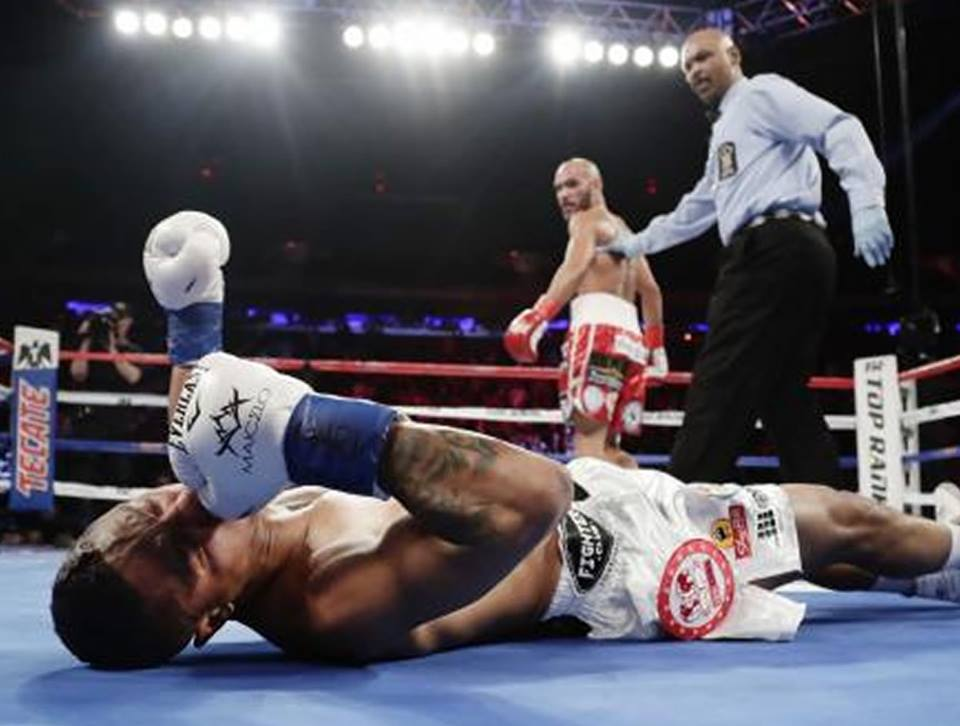 Jonathan Maicelo pierde tras fulminante KO del mexicano RaymundoBeltrán
