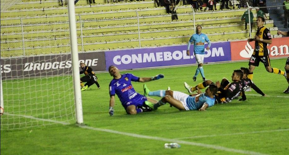 The Strongest 5 Sporting Cristal 1: Derrota en La Paz elimina a Cristal de laLibertadores