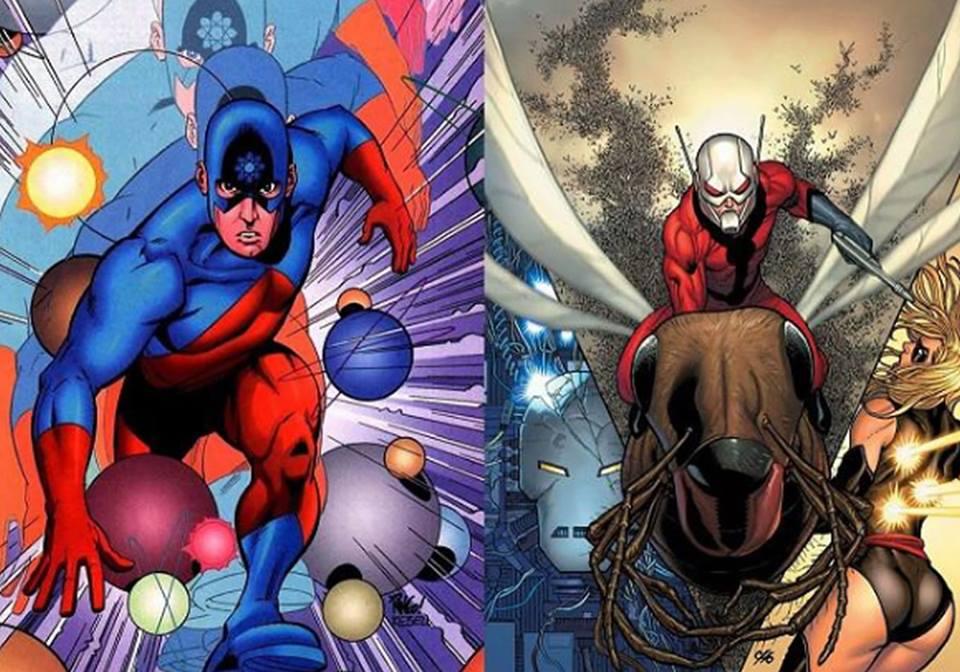 Ant Man, The Atom y otros súper héroes debolsillo