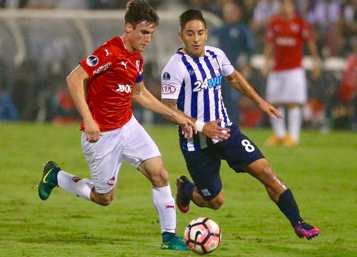 Alianza Lima eliminado por Independiente en la CopaSudamericana