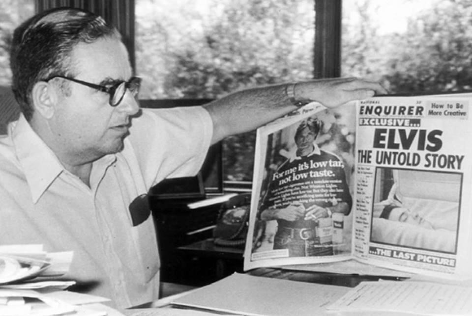 The National Enquirer: La increíble historia del tabloide mássensacionalista