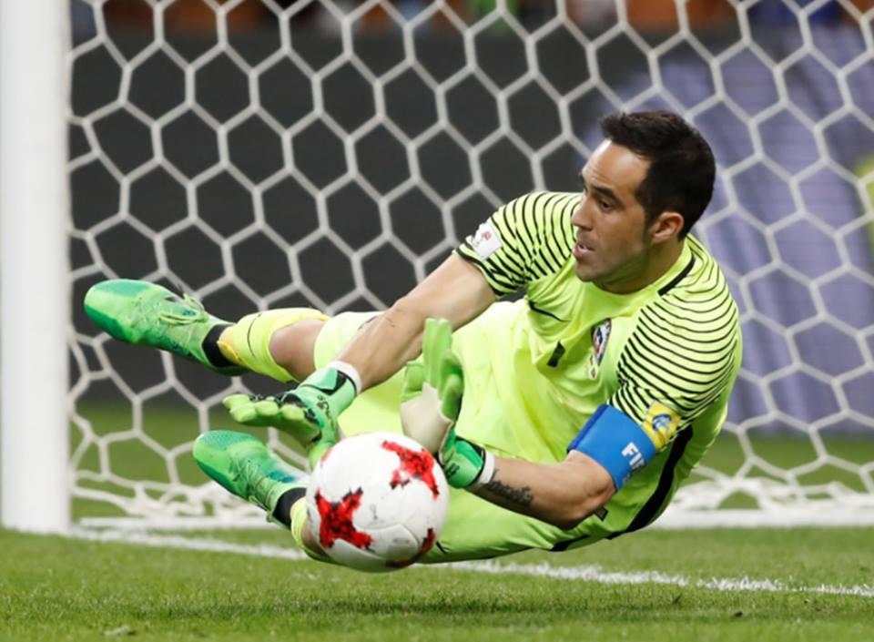 Copa Confederaciones: Chile y Claudio Bravo eliminan a Portugal deCR7