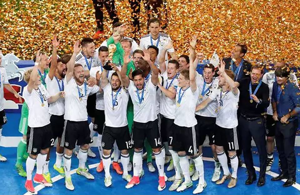Copa Confederaciones: Alemania campeona ante esforzadoChile
