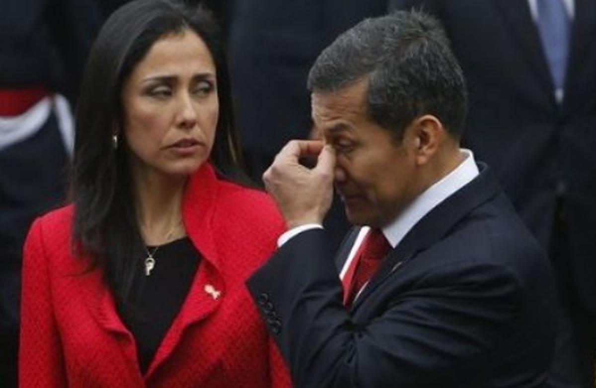 Ollanta Humala y Nadine Heredia detenidos: Con Fujimori en prisión y Toledoprófugo