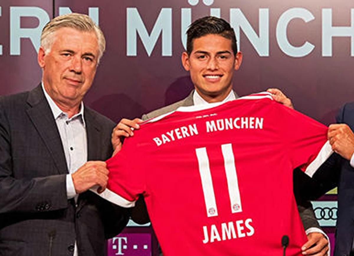 James Rodríguez busca olvidar al Real Madrid con BayernMúnich