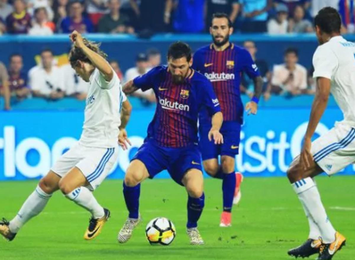 Barcelona gana 3 a 2 al Real Madrid en el primer clásico detemporada