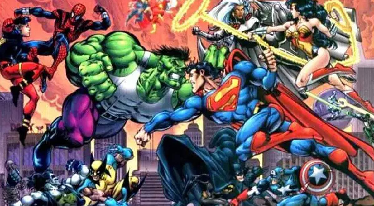 DC versus Marvel: El fallido crossover masivo de ambaseditoriales