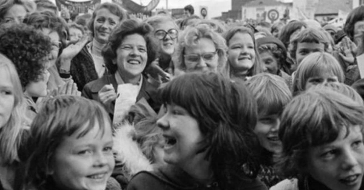 Las mujeres ganan su lugar: El ejemplo femenino deIslandia
