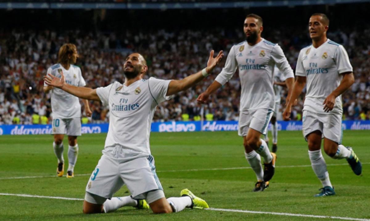 Real Madrid vuelve a someter al Barcelona y se lleva laSupercopa