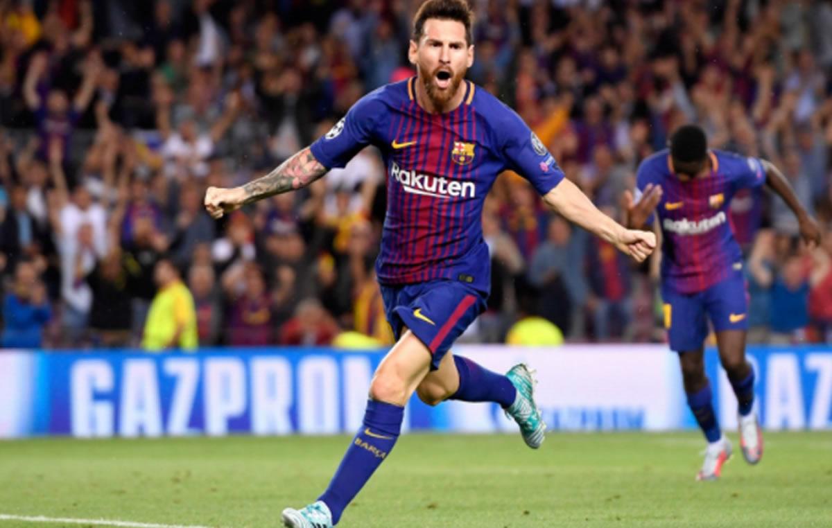 Champions League: Barcelona golea tres a cero a Juventus, con doblete deMessi