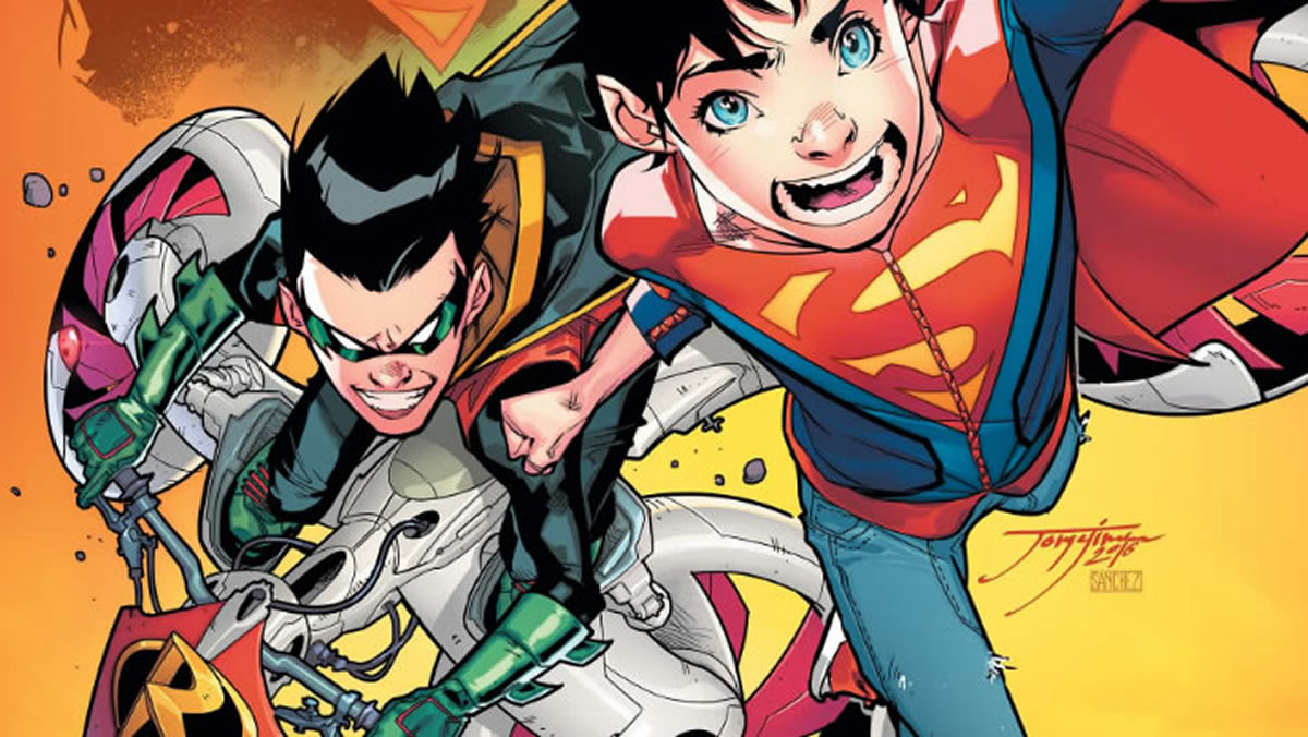 Super Sons: Algo así como Superman y Batman de chiquillos