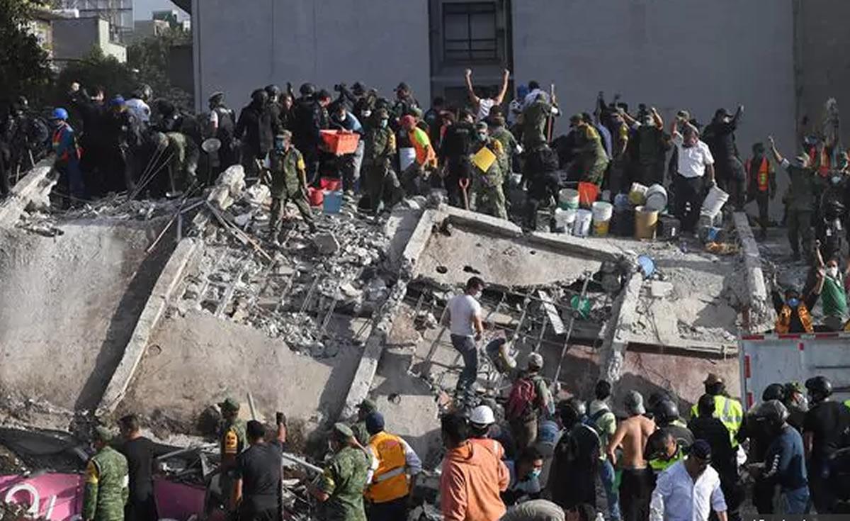 Segundo terremoto en México deja ya 248 muertes: A 32 años de la tragedia del85