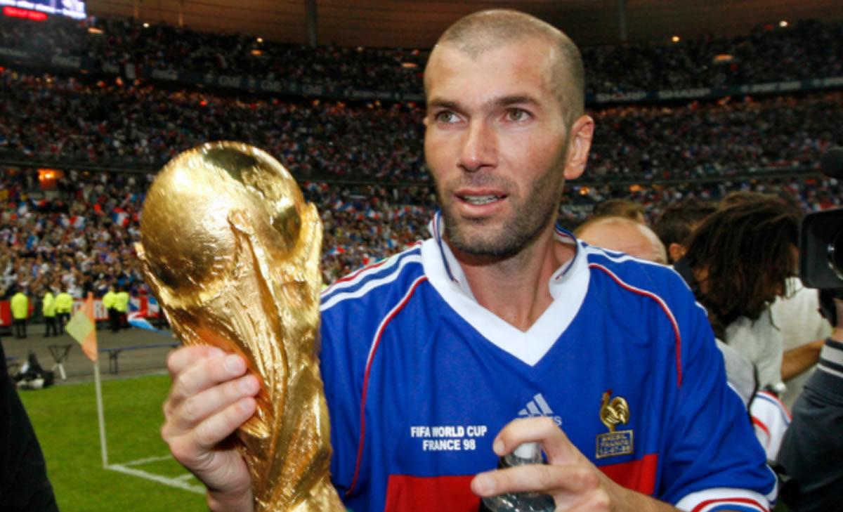 Zinedine Zidane, no todo fue fantasía y goles en sucarrera