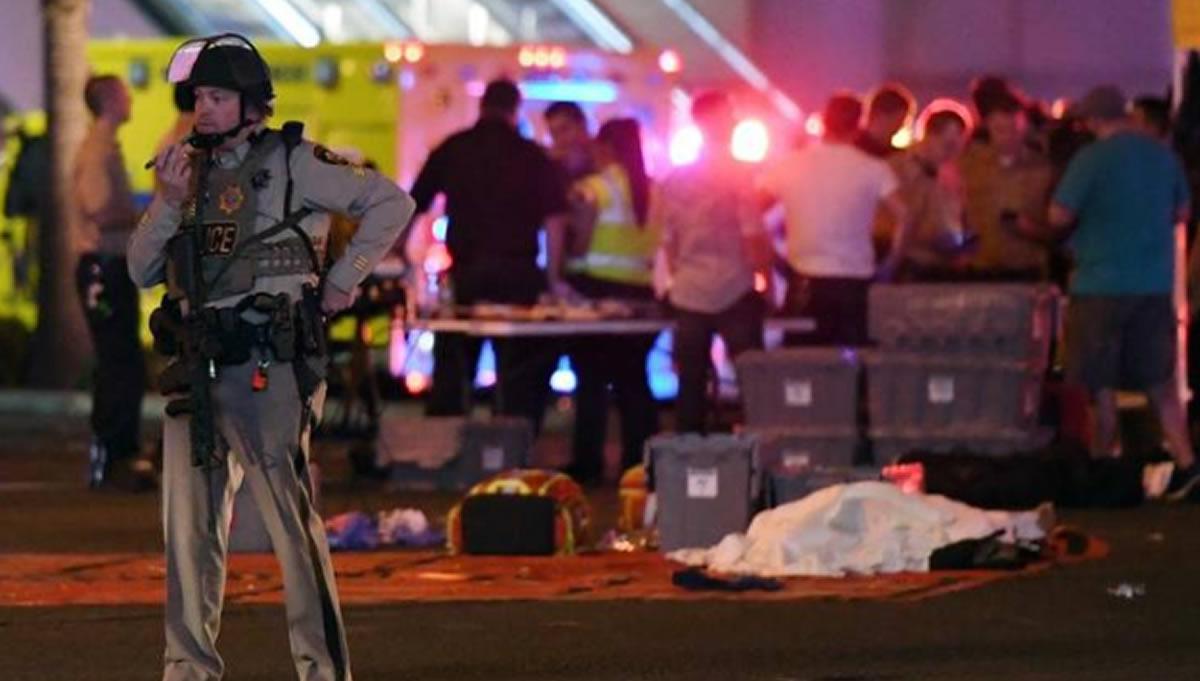 Violencia sigue en Estados Unidos: 58 muertos por tiroteo en LasVegas