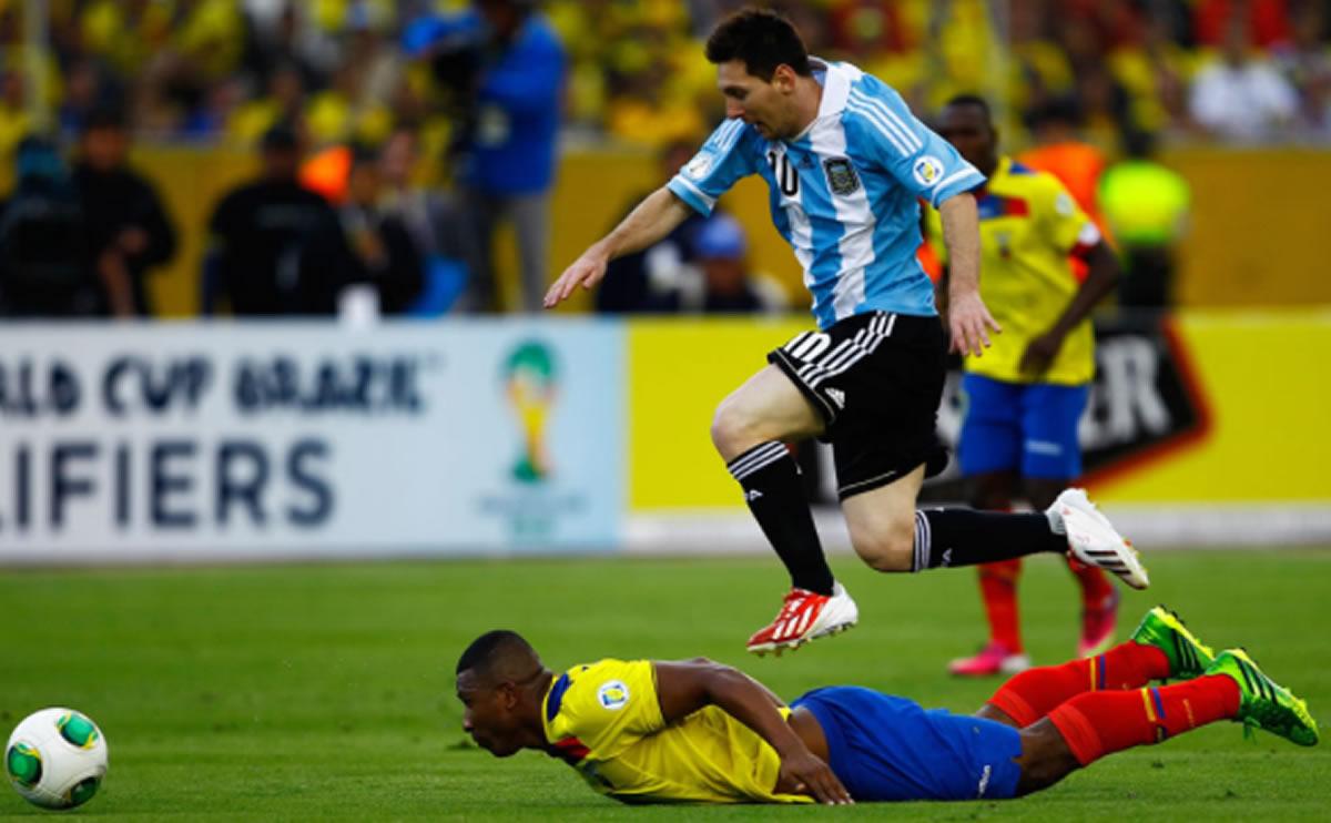 Lionel Messi dio su mejor presentación porArgentina