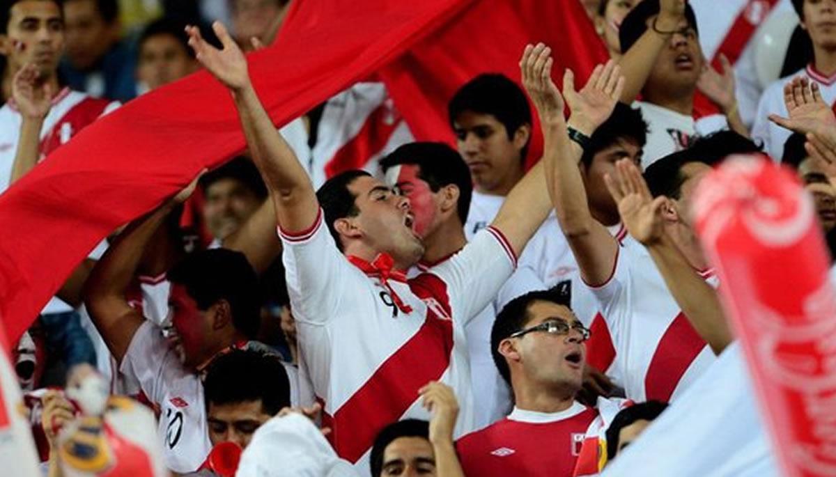 Perú-Nueva Zelanda: El hincha en el estadio debe alentar todo elpartido