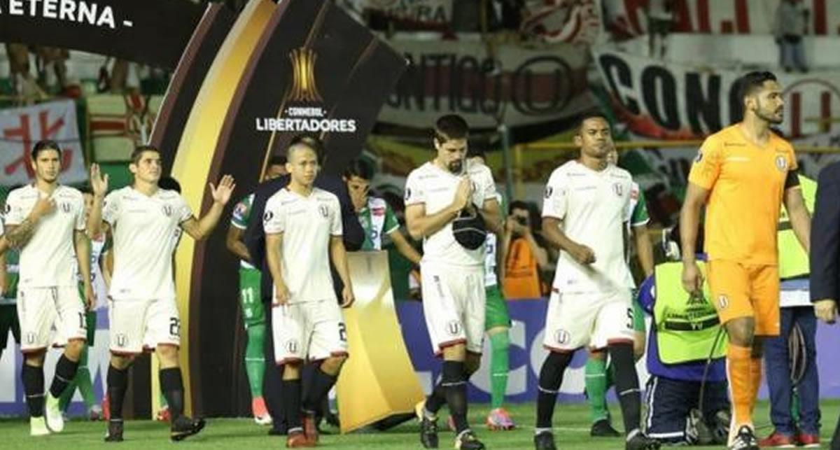 Universitario eliminado de la Copa Libertadores, tras lograr voltear la derrota enBolivia