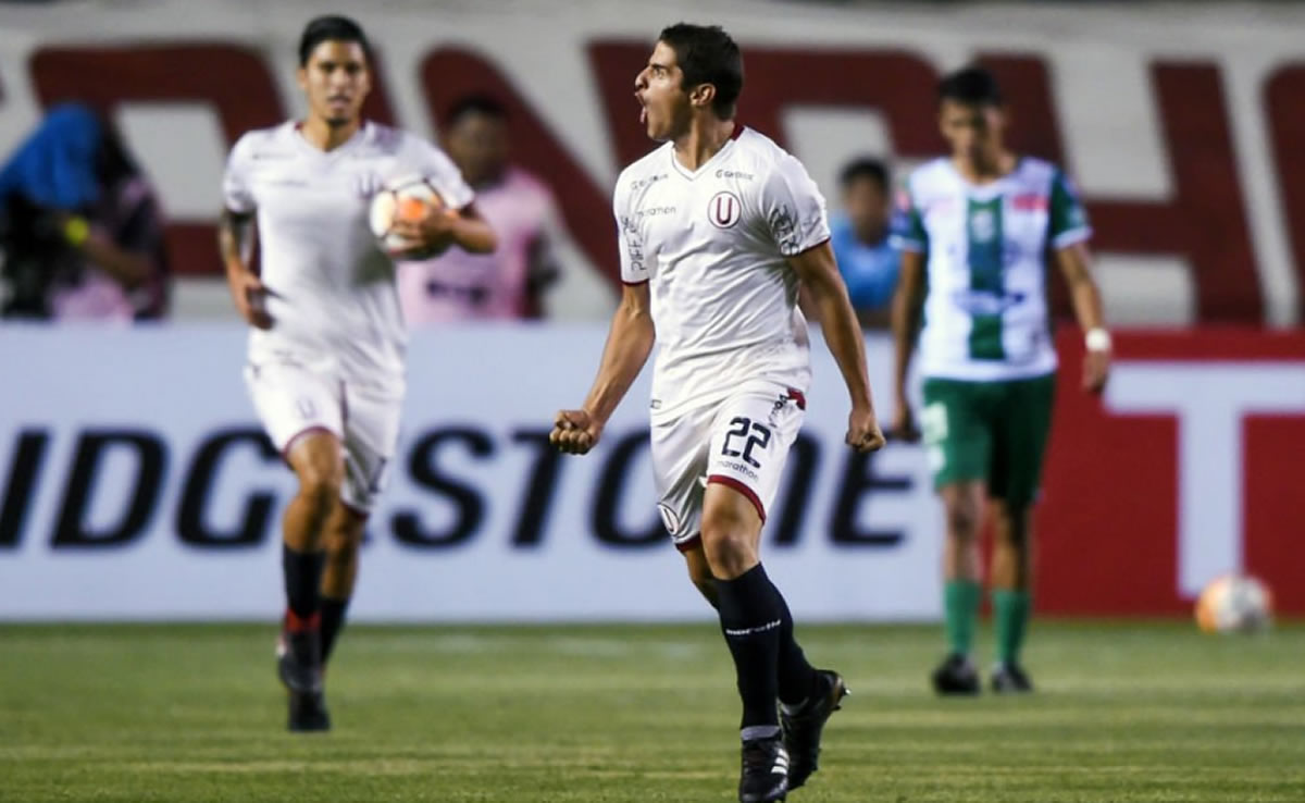 Copa Libertadores: Universitario metió un gol pero no essuficiente