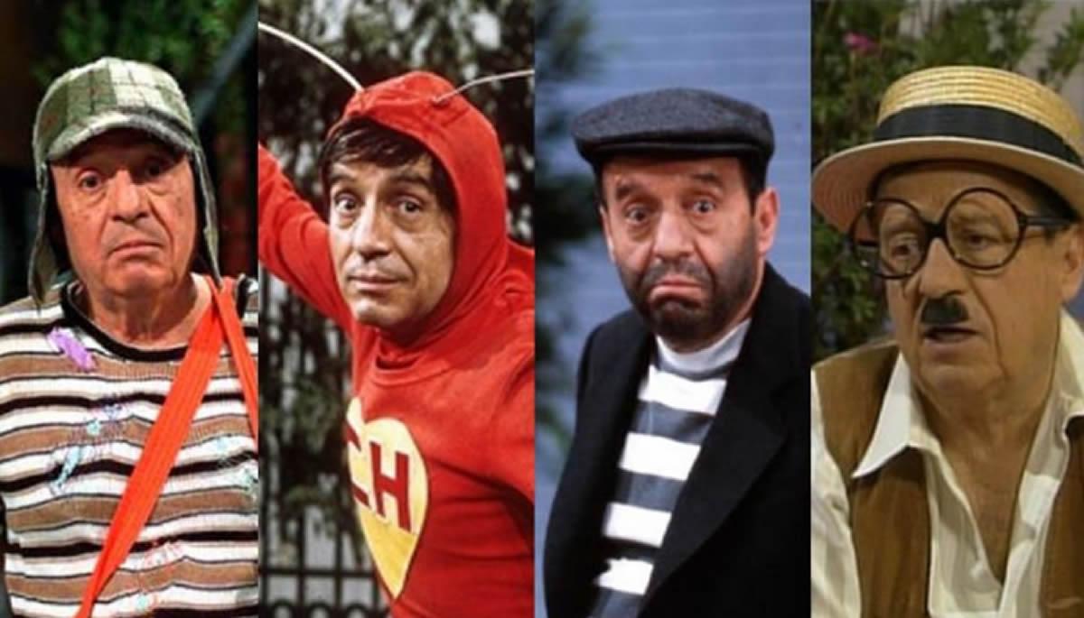 Series y Actores del Recuerdo: Chespirito y sus inolvidables personajes(Videos)