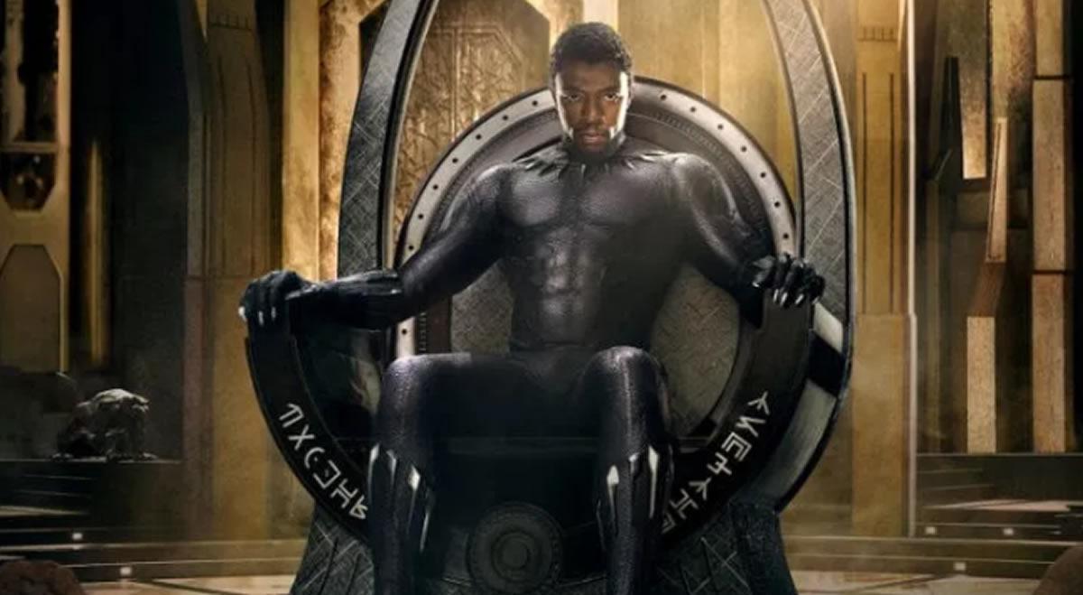 Black Panther (Pantera Negra) y otros héroes que sonreyes