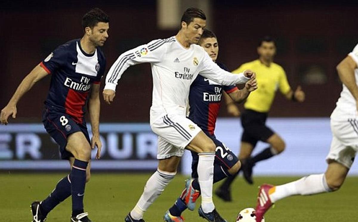 Real Madrid muy cerca de superar al PSG en la Champions con gol deCR7