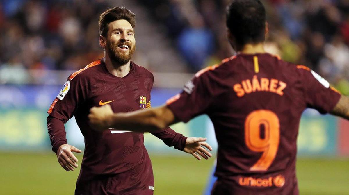 Visca Barca: El saludo al Barcelona FC nuevo campeón deEspaña