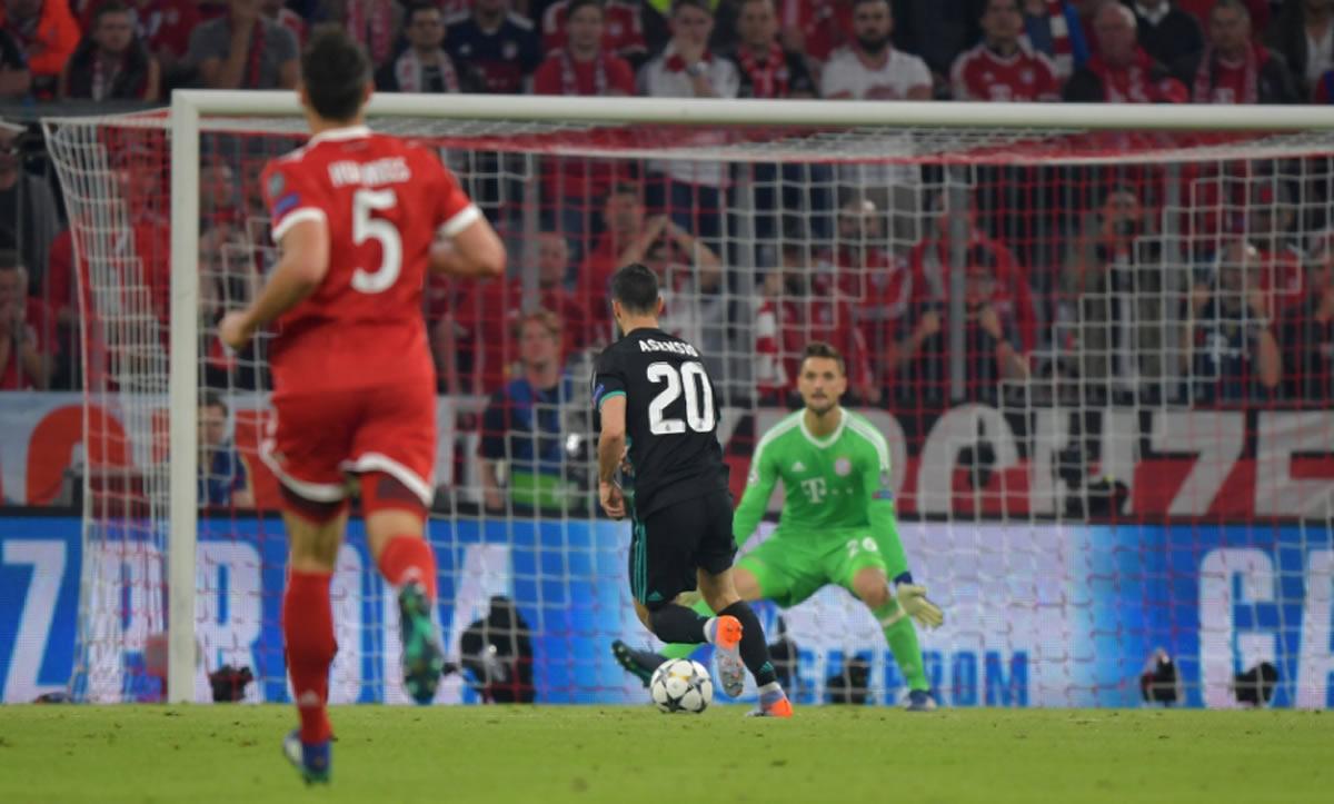 El Real Madrid se llevó el triunfo de Alemania, a pesar de ser dominado por el Bayern Múnich (ChampionsLeague)