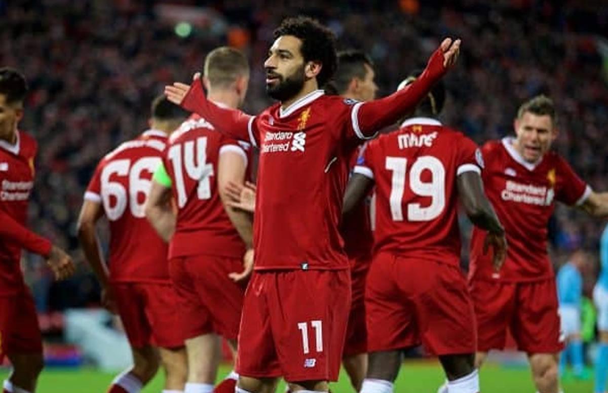 Champions League: Liverpool arrasaba 5 a 0, pero la Roma metió dos goles devista