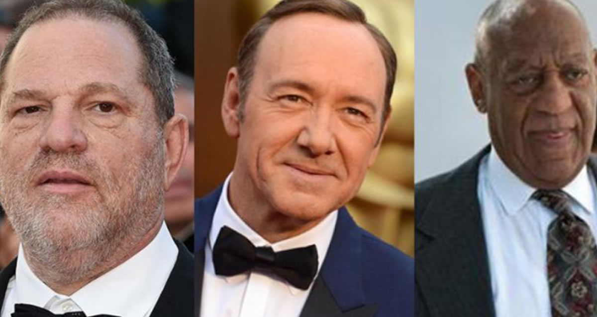 Crímenes de Hollywood: Weinstein, Kevin Spacey, Bill Cosby y los abusadores contra la pared