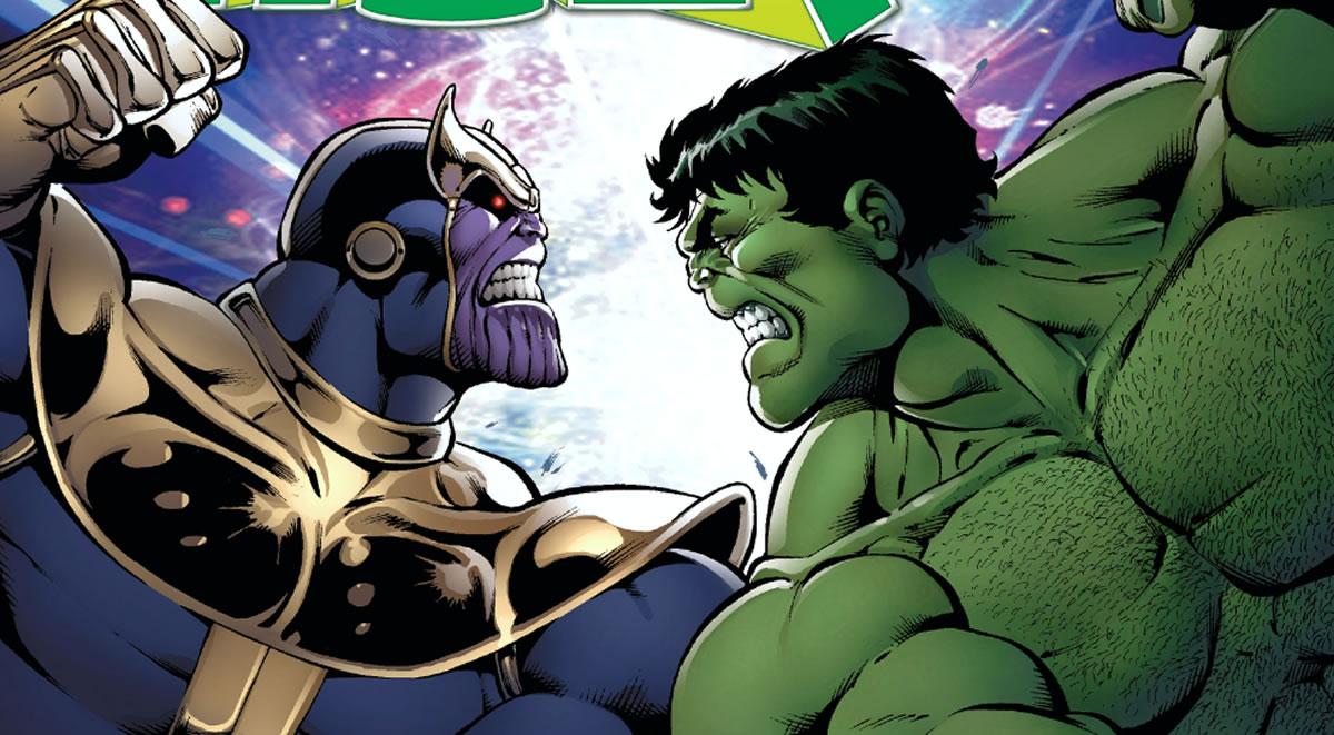 Avengers Infinity War: ¿Cuántos esperan una pelea entre Hulk yThanos?