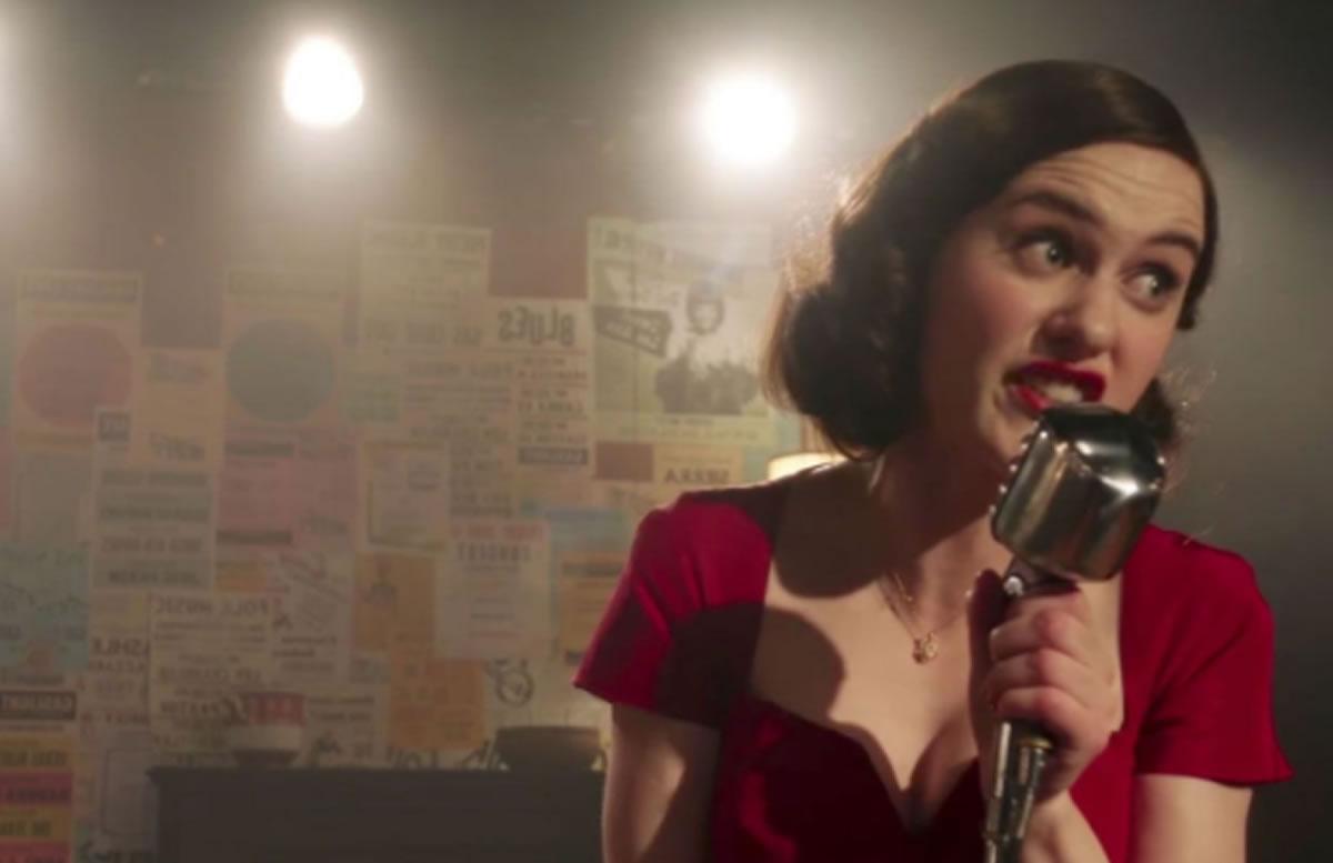 La Maravillosa Señora Maisel (Serie de TV): La entretenida historia de una comediante en los50