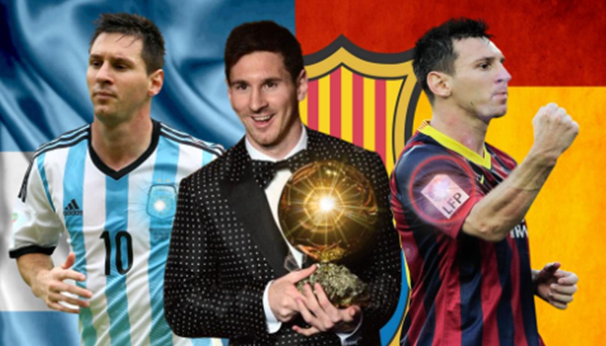 Lionel Messi, entre el cielo del Barcelona y el infierno deArgentina